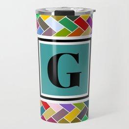 G Monogram Travel Mug