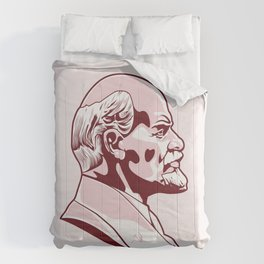 Vladimir Illitch Lenin Portrait Comforters