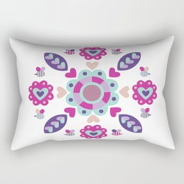 Love Mandala Rectangular Pillow