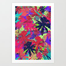 Tropical Palm Art Print