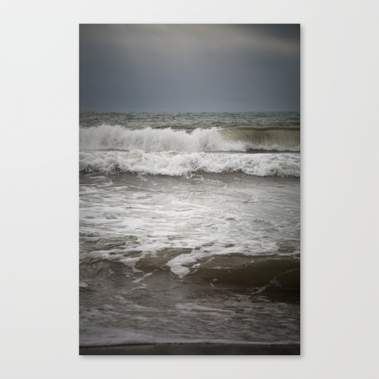 Wild Ocean Canvas Print