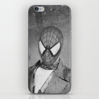 superheros iPhone & iPod Skins featuring Spidey Senior by Zach Terrell