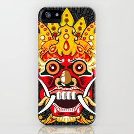 Balinese mask / Bali / Barong #3 iPhone Case