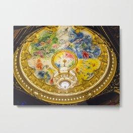 Chagall, Palais Garnier, Paris, France, 2015 Metal Print