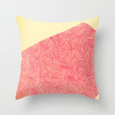 - summer : the monolith is pink - Throw Pillow