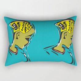 Self Awereness Rectangular Pillow