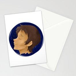 Lance blue galaxy Stationery Cards
