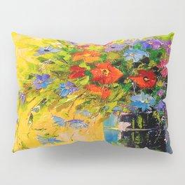 Bouquet of meadow flowers Pillow Sham