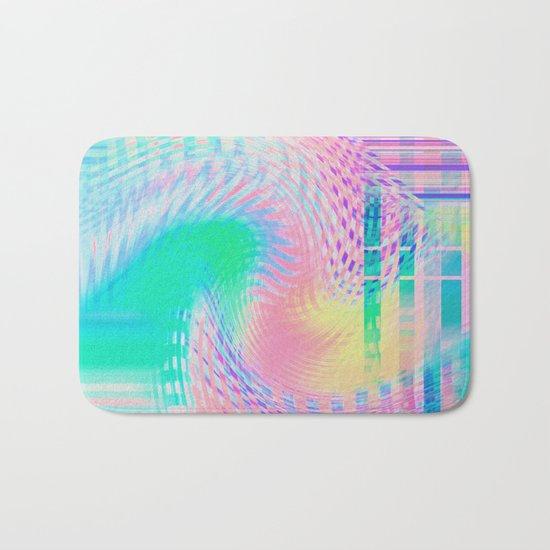 Distorted signal 03 Bath Mat