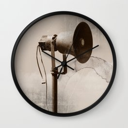 Can you hear me..... Wall Clock