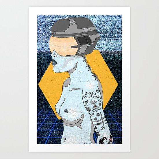 Retrofit Art Print