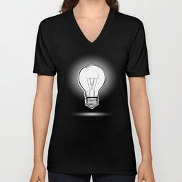 Light lamp Unisex V-Neck