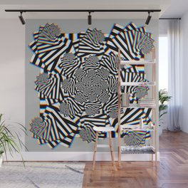 Stereo Tessellation Wall Mural