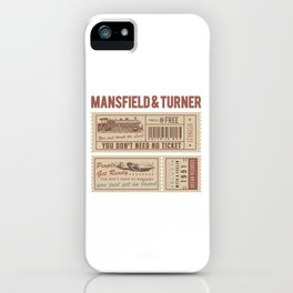 Mansfield&Turner - People Get Ready iPhone Case