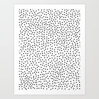 dots Art Prints featuring Dots.. by Priscila Peress