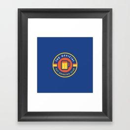 Day Drinking Club Framed Art Print