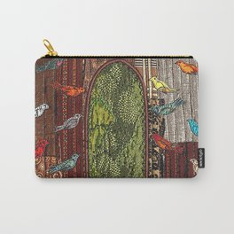 In the birdhouse Carry-All Pouch