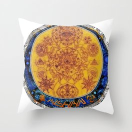 alchemy of the world Throw Pillow