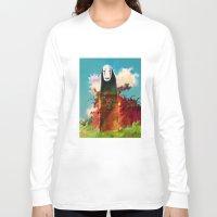 chihiro Long Sleeve T-shirts featuring no face by ururuty