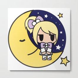 Izzy - Lullaby Moon Night Metal Print