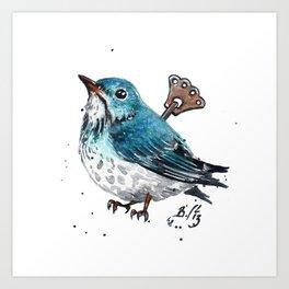 Wind Up Mini CLVII Art Print