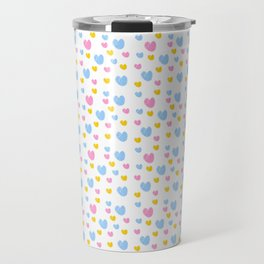 heart and color 5-love,romantism,romantic,cute,beauty,tender,tenderness Travel Mug