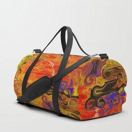 Orange Emotion Duffle Bag
