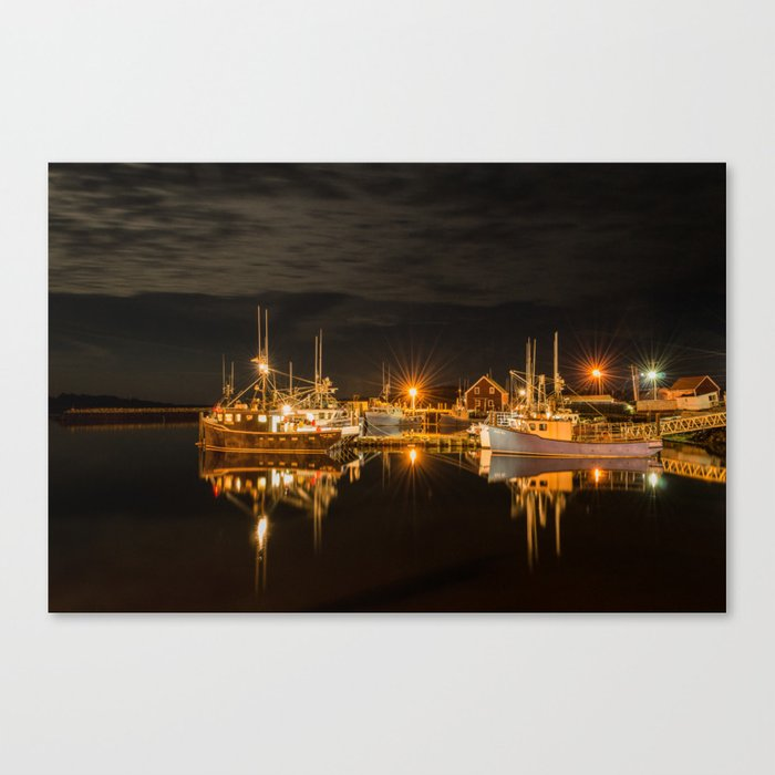 John's Cove Reflections Canvas Print