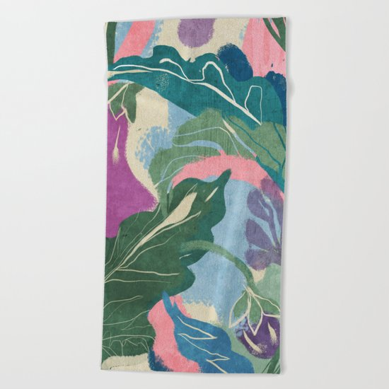 Berenjenas Beach Towel