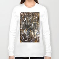 black and gold Long Sleeve T-shirts featuring Black Gold by Tyler Resty