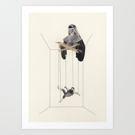 Strings Attached #2 Art Print