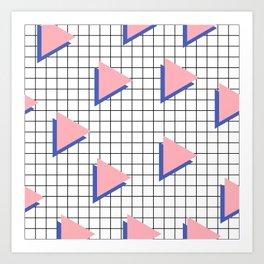 Memphis pattern 8 Art Print
