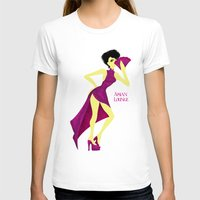 asian T-shirts featuring Asian Lounge by Alex Moreno