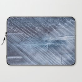 Gray Blue blurred wash drawing Laptop Sleeve