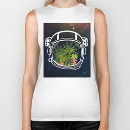 Space Garden Biker Tank