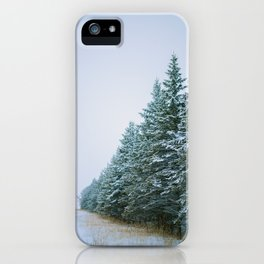 Fading Trees iPhone Case