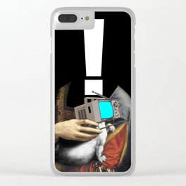 Another Portrait Disaster · !1 Clear iPhone Case