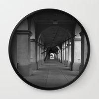 infinite Wall Clocks featuring Infinite by ravenchantdesigns