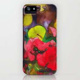 Broken Petals  iPhone Case