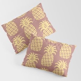 Retro Mid Century Modern Pineapple Pattern 525 Pillow Sham