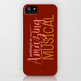 Nothing's As Amazing As a Musical iPhone Case