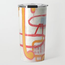 Exit To The Left Travel Mug