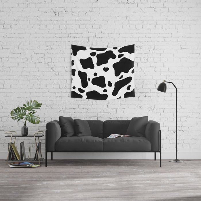 Cow Hide Wall Tapestry