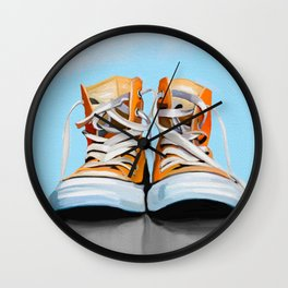 Chucks Wall Clock