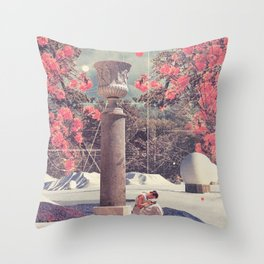Waiting for my Loneliness to Forgive Me Throw Pillow