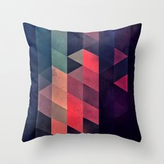 edyfy wyth lyys Throw Pillow