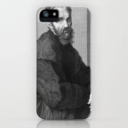 Michelangelo iPhone Case