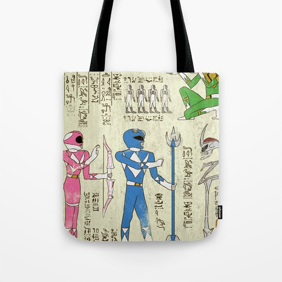 Hero-Glyphics: Power Tote Bag