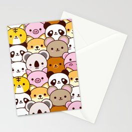 Cute baby animals  Stationery Cards