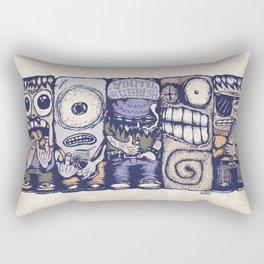 Youth Rubbish Rectangular Pillow